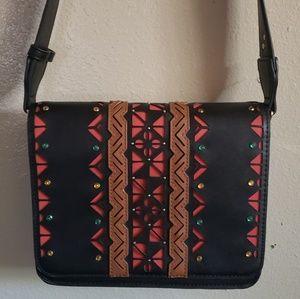 Gem studded over the shoulder bag. NWOT.